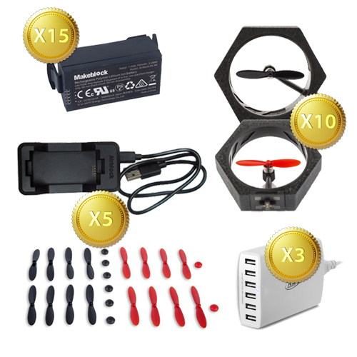 AirDrone Class Pack of Accessories