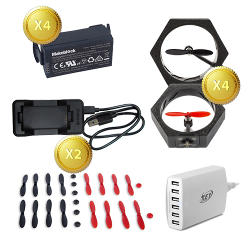 AirDrone Club Pack of Accessories
