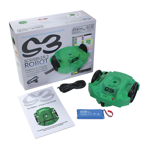 Scribbler S3 Robot with single user Curriculum Bundle