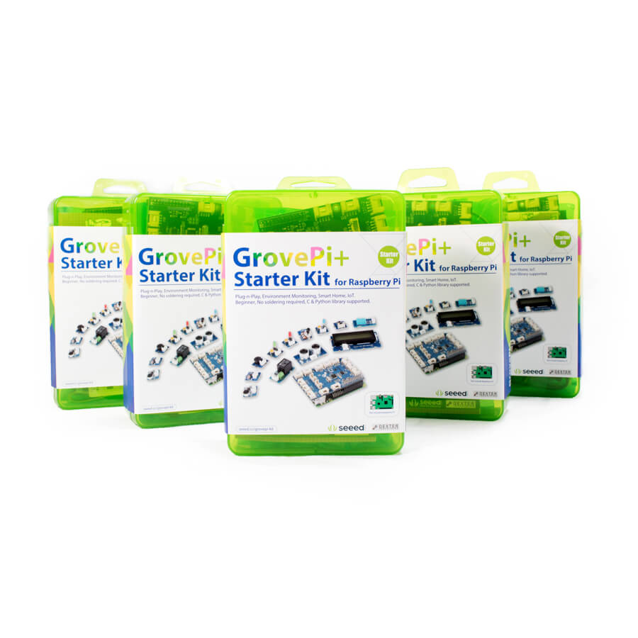 GrovePi Starter Club 5 Pack