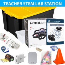 Exploring Coding and Aeronautics with AirBlock Drone Teacher STEM Station