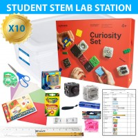 Exploring STEAM with Cubelets 10 Lab Station Classroom