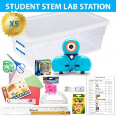 Exploring Coding with Dash STEM Lab Class 5 Pack