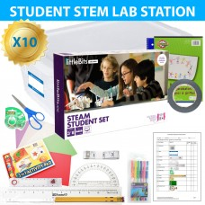 Exploring Inventing with littleBits CS/STEM Lab Class 10 Pack for grades 3-7