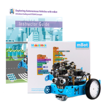 Exploring Coding and Self-driving Cars with mBot Bundle with Curriculum