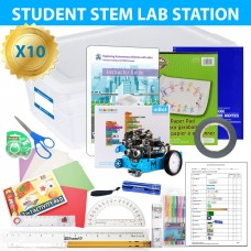 Exploring Self-Driving Vehicles and Coding with mBot - 10 STEM lab pack