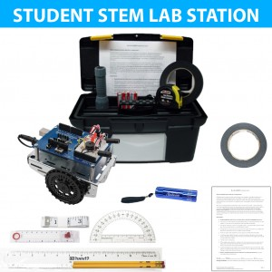 Exploring Coding and Electronics with Shield-Bot Student Station