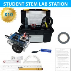 Exploring Coding and Electronics with Shield-Bot STEM Lab 10 Pack