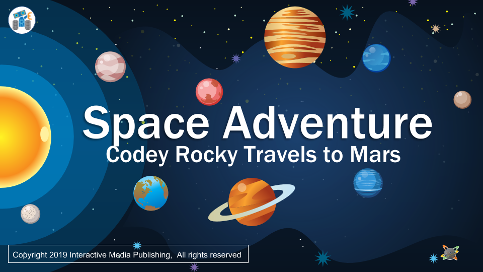 Space Adventure Codey Rocky travels to Mars