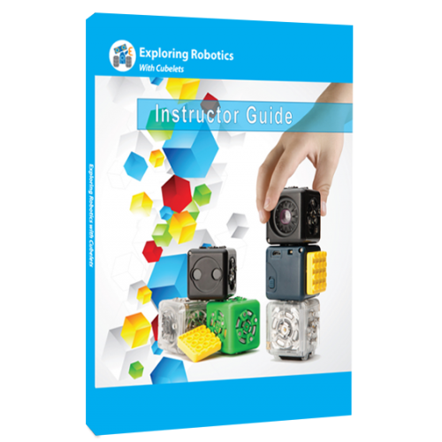 Exploring Robotics Class Site License Cubelets Curriculum for Elem 1 Year