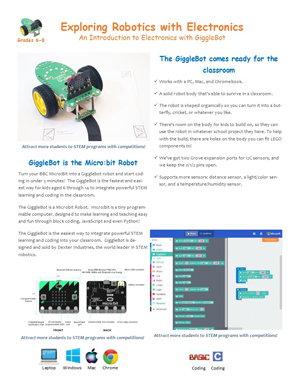 gigglebot brochure small